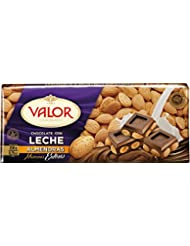 Valor Chocolate con Leche y Marconas Enteras - 250 g