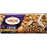 Chocolates Valor - Choholate con y Marconas Enteras - 250 g - [pack de 4]