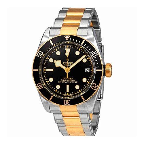 Herren Tudor Heritage schwarz Bay Gold 79733N 41mm