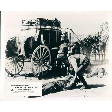 Furey del Apaches Wells Fargo Stagecoach Lobby Card