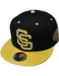 South Side - Noir et Jaune Casquette de Baseball Snapback