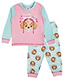 Mädchen-Schlafanzug für Babys oder Kleinkinder mit Disney Minnie Mouse / Me to you Tatty Teddy Design, Pyjama-Set, Größe: 6 - 24 Monate Gr. 18-24 Monate, Paw Patrol - Team Skye