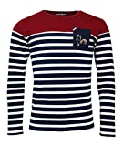 Religion Rugby - T-Shirt de Rugby Jamais sans ma Marinière - ML - XL