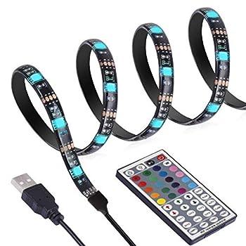 Ansche 118inch Tv Backlights Kit Remote Control 20 Colourmode