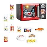 Sharplace Verschiedenes Kinder Küchen Kochgeschirr Elektrogeräte Spielzeug für Kinder Hauswirtschaft Rollenspiele - Mikrowelle