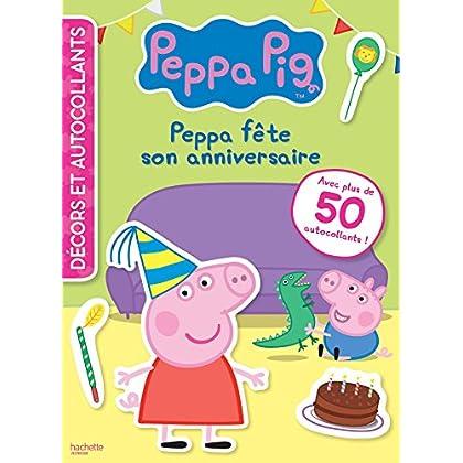 Peppa Pig - Décors et autocollants - Anniversaire