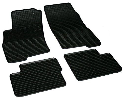 AD Tuning GmbH & Co. KG Gummi tappetini per auto, set di 4 pezzi in gomma