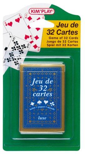 Cofalu Kim'Play - Jeu de carte - Jeu De 32 Cartes - Luxe