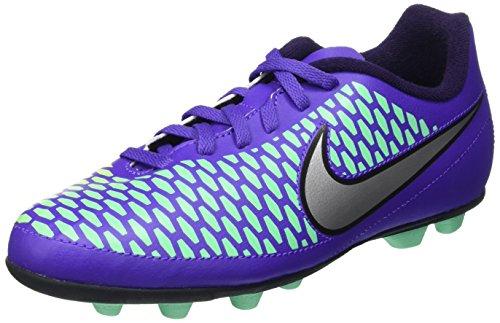 Nike Jr Magista Ola Fg-R Scarpe da calcio allenamento, Unisex bambini, Multicolore (Hypr Grp/Mtllc Slvr-Prpl Dynst), 33 1/2