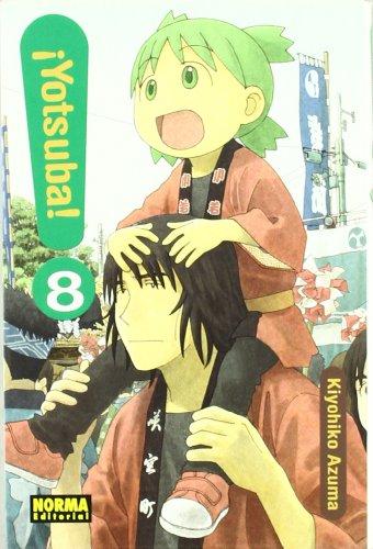 Kiyohiko Azuma, Kiyohiko Azuma. Manga 11,5 x 17,5 cm, tapa blanda con sobrecubiertas, 216 pág. B/N, sentido de lectura japonésAperiódico, 9 vol. publicados en Japón. YA ESTÁ AQUÍ LA ESPERADÍSIMA NUEVA ENTREGA DE ¡YOTSUBA!Yotsuba es una niña muy espec...