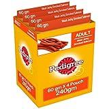 #10: Pedigree Meat Jerky Stix Dog Treats, Smoked Salmon, 60 g Pouch (Pack of 4)