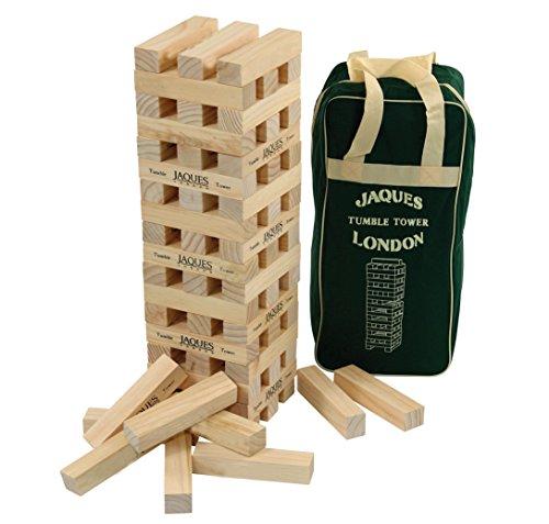 Giant-Ultimate-XXL-Tumble-Tower-Superior-Gre-Build-auf-ber-5-FSSE-hoch-whrend-des-Spiels-Jaques-Of-London Jaques of London Wackelturm – perfekt Spiele ab 3 4 5 Jahren und großartig -