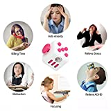 ENJOY Fidget Cube Relieves Stress And Anxiety for Children and Adults (Red)