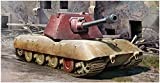 Trumpeter 009543 E-100 Heavy Tank -Krupp Turret Plastikmodellbausatz, Farbig