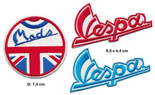 Parche para Moto de Carreras Classics Vespa Mods