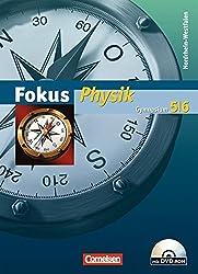 Fokus Physik - Gymnasium Nordrhein-Westfalen: 5./6. Schuljahr - Schülerbuch mit DVD-ROM