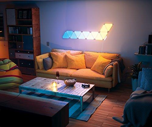 nanoleaf Aurora – 9x Modulare Smarte LED – Lichtpanels mit App Steuerung