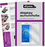 dipos I 6X Schutzfolie klar passend für Huawei Honor 6C Folie Displayschutzfolie