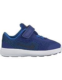 Nike NIKE REVOLUTION 3 (TDV) - Zapatillas deportivas, Niños, Azul - (Deep Royal Blue/Obsidian-Blue Jay-White)