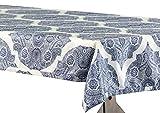 Halben Preis Drapes Royal Designer Kunstseide Taft Outdoor Tischdecke, Mendi, 54x 120