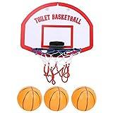 Divertente Canestro da Basket da Bagno per Bambini e Neonati con 3 Palline Camera Bagno Gioco per Vasca Pallacanestro del Giocattolo del Bagno per Bambini