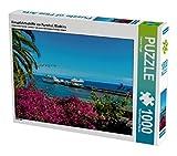 Kreuzfahrtschiffe vor Funchal, Madeira 1000 Teile Puzzle quer (CALVENDO Natur)
