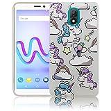 Wiko Lenny 5 Passend Einhorn Baby süße Handy-Hülle Silikon - staubdicht, stoßfest & leicht - Smartphone-Case