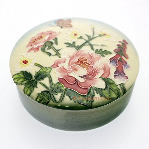 Old Tupton Ware English Garden Trinket Box 4.5 Inches Tw7908 Brand New