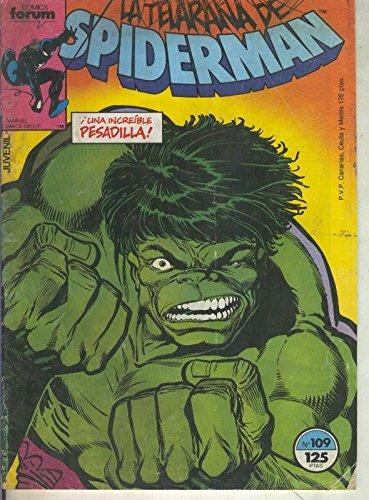Spiderman volumen 1 numero 109
