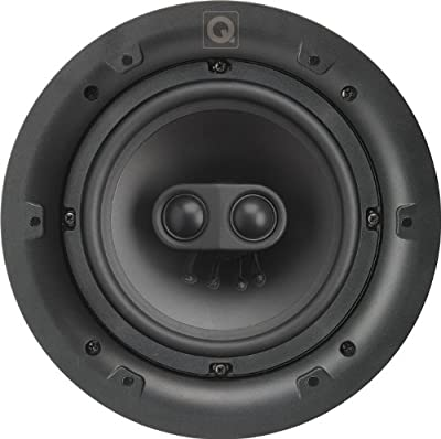 Q Acoustics Q Install QI65ST Professional Stereo In Ceiling Speaker (Each) (Square Grille) by Q Acoustics
