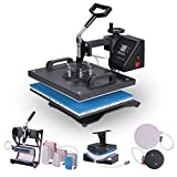 Lartuer Transferpresse Tassenpresse Textilpresse T Shirtpresse Heat Press Machine 8 in 1 Mulitifunktional