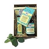 Cancella Vitalità Energizzante Aromaterapia Set - contiene un gel doccia da 100 ml e un punto di roll-on 10ml impulso in un sacchetto regalo attraente con la modifica del regalo.