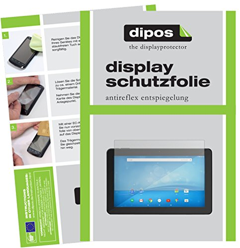 dipos I 2X Schutzfolie matt passend für 15.6 Zoll Wide 345 x 194 mm Folie Displayschutzfolie 15.6 Display