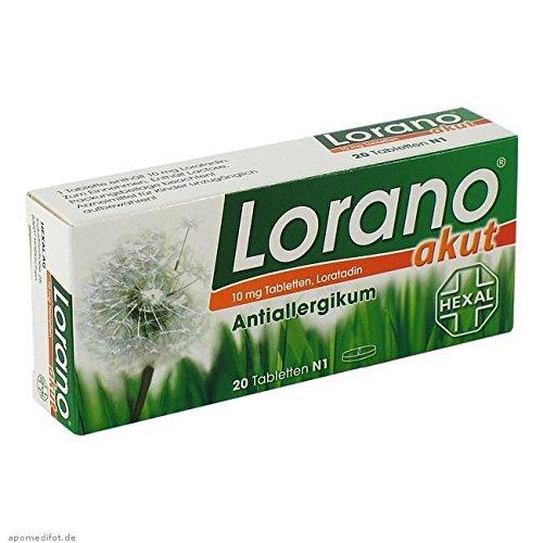 Lorano akut Tabletten, 20 St.