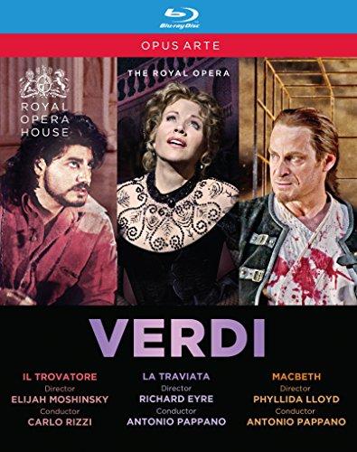 Verdi: Il Trovatore / La Traviata / Macbeth (Royal Opera House) [3 Blu-rays]