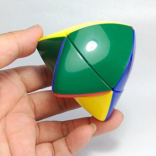 Zantec 2 * 2 Pocket Cube Zwei Schichten Tetrahedron Puzzle Cubes Magic Cube -