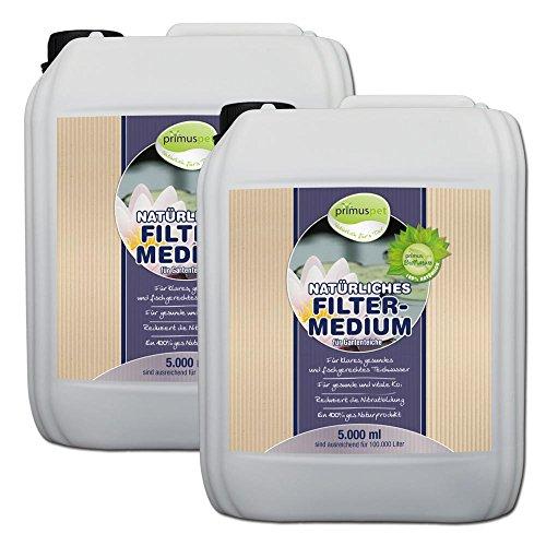 primuspet naturelles & liquide nettoyant Filtre Pond 10 000 ml