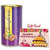 #3: Chocofarm Chocolicious ALMONDS (96 gms) - Festival Treat Chocolate Almonds With Greeting Card | Festival Special Treat | Chocolate Coated Almonds | Festival Gift chocolates for Love ones & Family | Festival Special | Greeting Card (Happy Birthday card) for Loved one