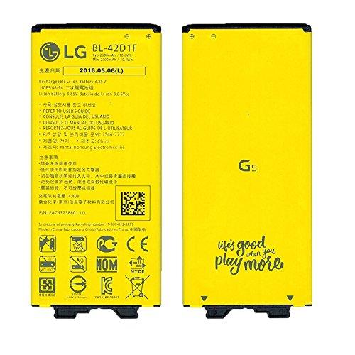 Original LG Li-Ionen Akku BL-42D1F mit 2800 mAh für LG G5 H850 (Batterie) - EAC63238801