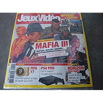 EDITION GAMER PACK : JEUX VIDEO MAG N°189 !! 'EXCLU MONDIAL MAFIA III'+ THE GAME N°14 !! 'BATTLEFIELD CONTRE CALL OF DUTY'