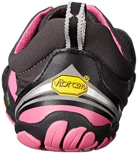 Vibram Five Fingers Kmd Sport Ls, Chaussures Multisport Outdoor Femme Multicolore (Grey/black/pink)