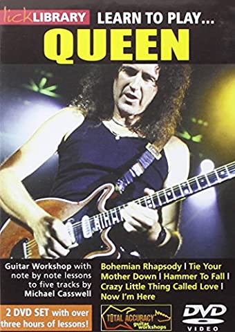Lick Library: Learn To Play Queen [2 DVDs] [UK Import]