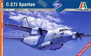 Italeri - I1284 - Maquette - Aviation - C-27J Spartan - Echelle 1:72