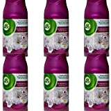6x Air Wick Smooth Satin & Moon Lily Nachfüller für Freshmatic Max Refill - 250ml