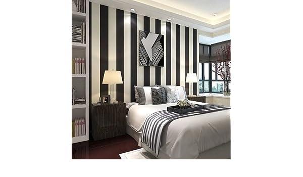 Pareti A Strisce Bianco E Nero : Classico bianco e nero a strisce sfondo moderno semplice non