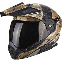 Scorpion Casco Moto adx-1 battleflage Arena, multicolor, talla XXL