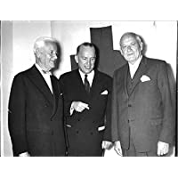 Vintage photo of Former chairman of the International Federation of Red Cross and Red Crescent Societies Emil Sandström with former Secretary of Red Cross Henrik Beer and former member of member of the Canadian Red Cross Society John MacAulay