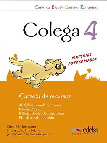 Colega 4 - carpeta de recursos (Métodos - Niños - Colega - Nivel A2.2) por Elena González Hortelano