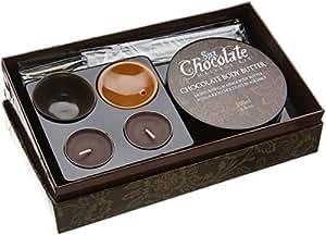 Schokoladen Massage Set - ein romantisches Time Out für Paare
