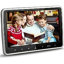 Cherryou 10.1 pulgadas HD 1024 * 600 HDMI USB SD IR / FM ultra delgado Digital Touch Key LCD pantalla del coche reproductor de DVD reposacabezas monitor